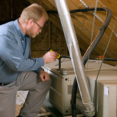 Ventilationsservice för privatpersoner i villa och radhus