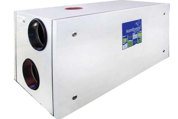 Installation av nytt FTX aggregat för radonsanering