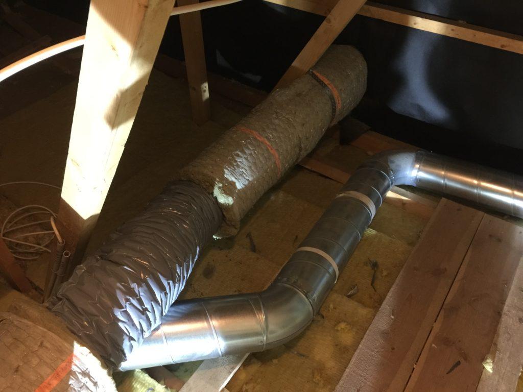 Isolering av ventilationskanaler termavent